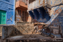 Bike in the Blue City copy