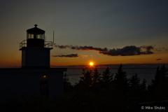 Grand Manan Lighthouse sun copy