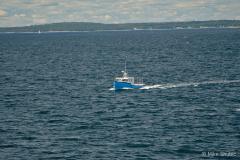 Fishing vessel at sea copy