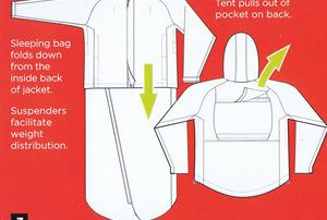 A review of the JakPak: A jacket than turns into a tent