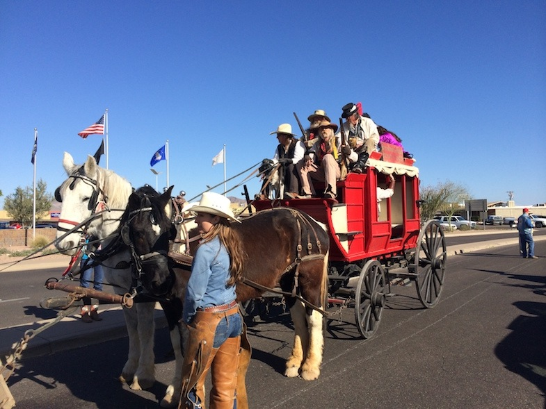 Lost Dutchman Parade in Apache Junction by MikesRoadTrip.com