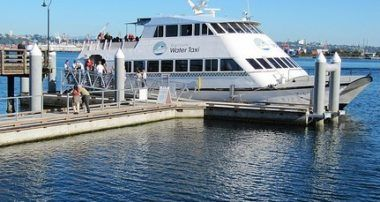 Avoid the headaches, take the Seattle Water Taxi