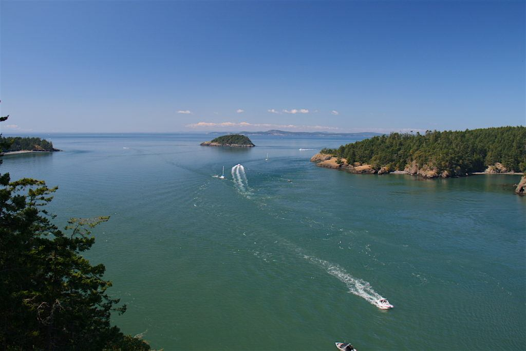 Deception Pass on Whidbey Island by MikesRoadTrip.com