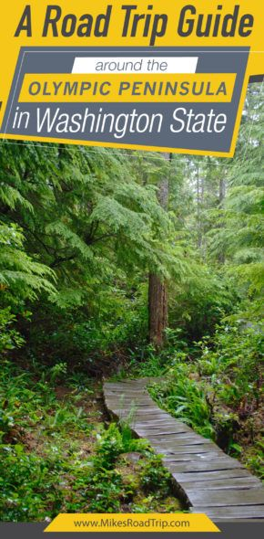Olympic Peninsula Road Trip Guide Pin by MikesRoadTrip.com