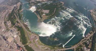 [Video] Niagara Falls by land, water & air