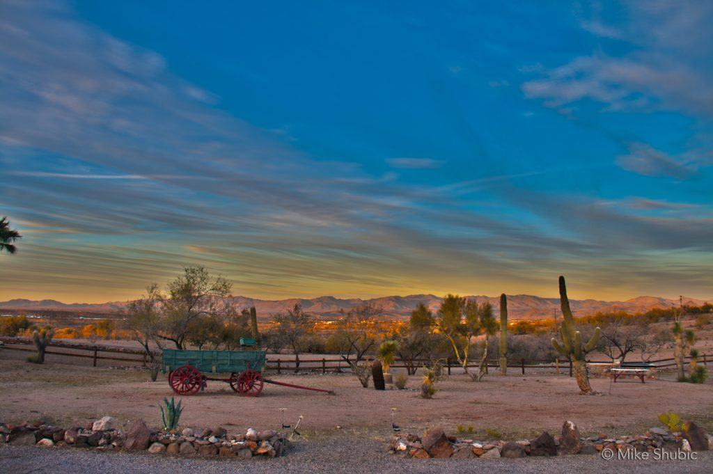 Wickenburg Sunset by Mike Shubic of MikesRoadTrip.com