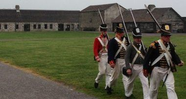 Fort Niagara: Past the 'Falls,' back in time