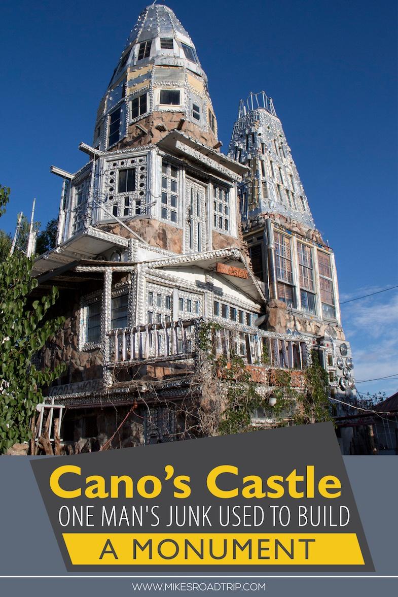Cano's Castle by MikesRoadTrip.com