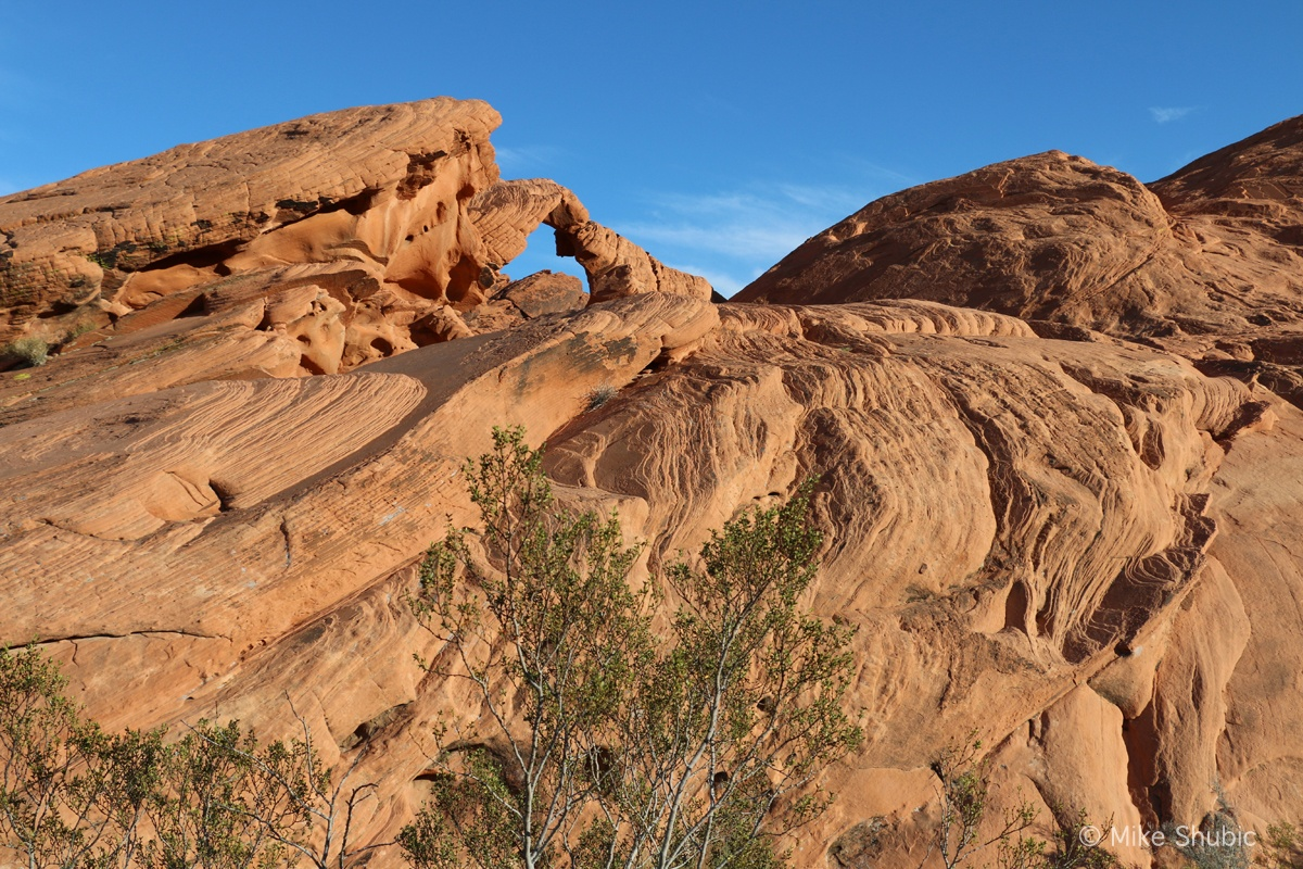 The Arch at Valley of Fire by MikesRoadTrip.com