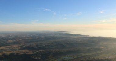 A lofty view of San Diego