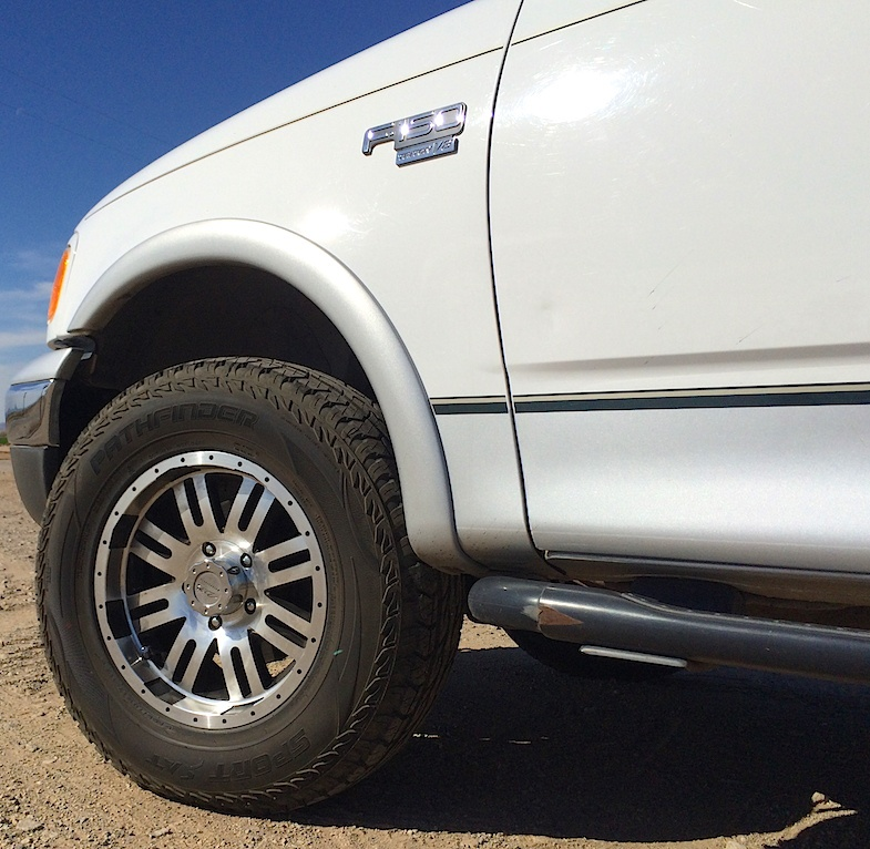 All Terrain Truck Tires >> Pit Stop: New treads for the truck - Mike's Road Trip