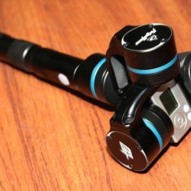 Stabalize GoPro footage with Feiyu Tech G4 handheld gimbal