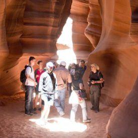 Antelope Canyon – Nature inspired wonderment