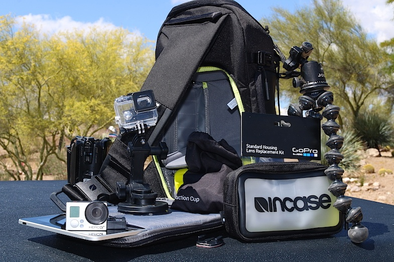 Incase Sling Pack Gopro Camera Bag Review Mike S Road Trip