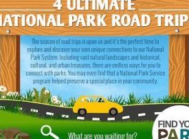 Four amazing National Park road trips