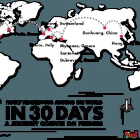 Local Travel Blogger Wins RTW Trip