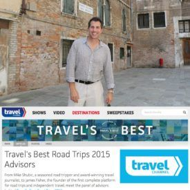 Travel Channel.com road trip advisor