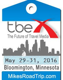 Heading to Bloomington, MN for TBEX 2016