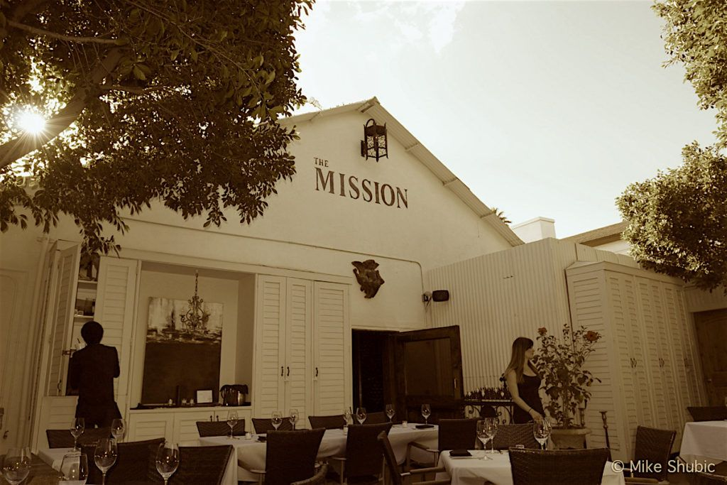 The Mission Restaurant in Scottsdale Patio by MikesRoadTrip.com (sepia)