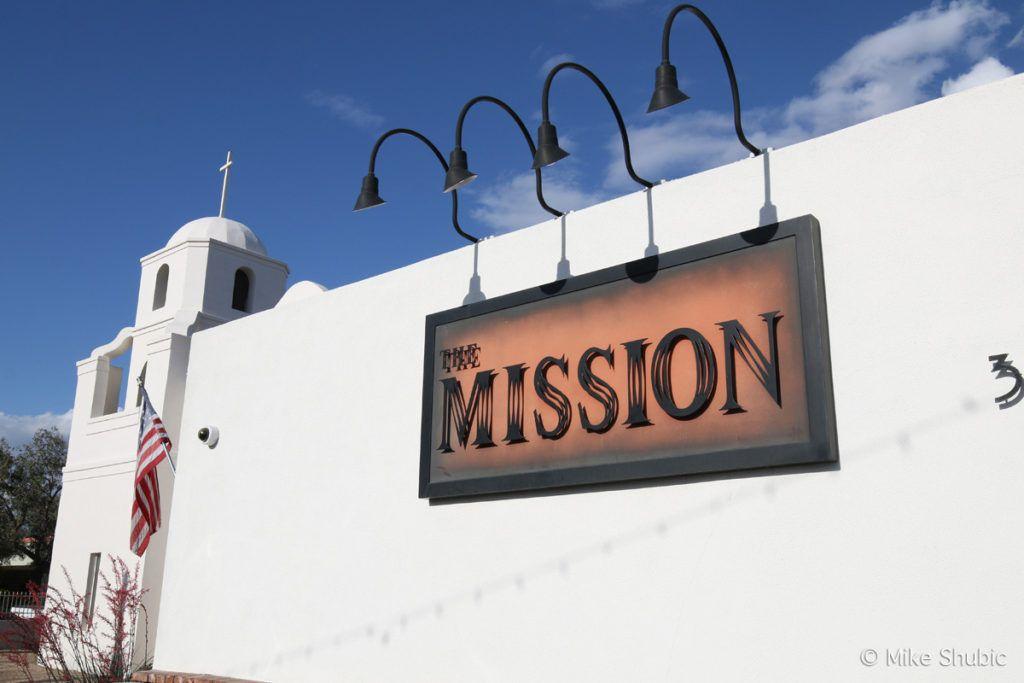 The Mission Restaurant exterior by MikesRoadTrip.com