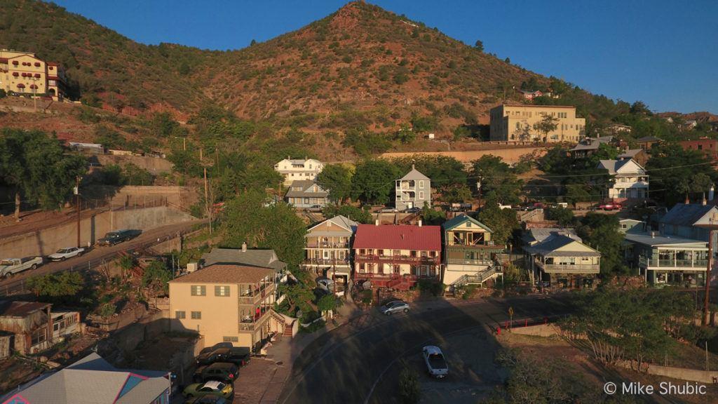 Ghost City Inn Aerial by MikesRoadTrip.com