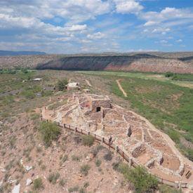 Tuzigoot National Monument in Clarksdale, AZ