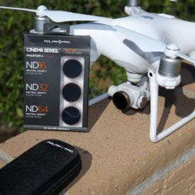Get best possible footage from DJI Phantom with Polar Pro filters