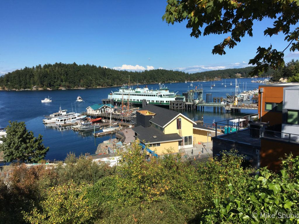 Friday Harbor in the San Juan Islands by MikesRoadTrip.com