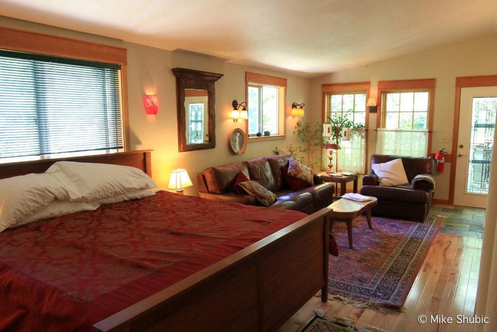 Room at the Lodge on Orcas Island by MikesRoadTrip.com