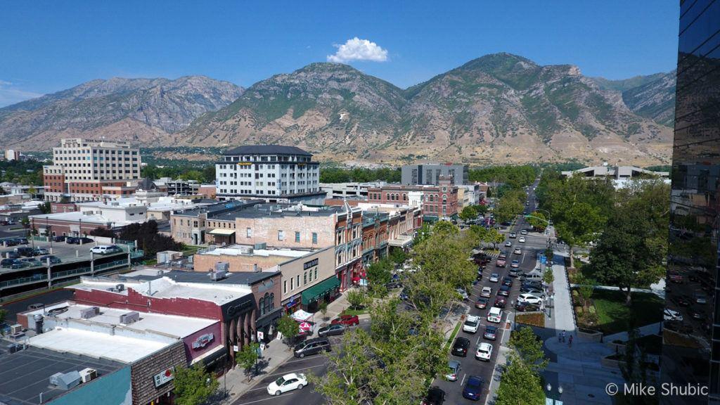 Downtown Provo Utah by MikesRoadTrip.com
