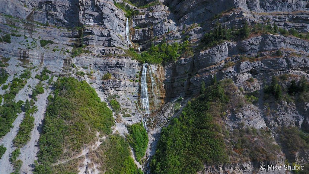 Bridal Veil Falls in Provo by MikesRoadTrip.com