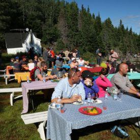 At The Gathering in Burlington, Newfoundland