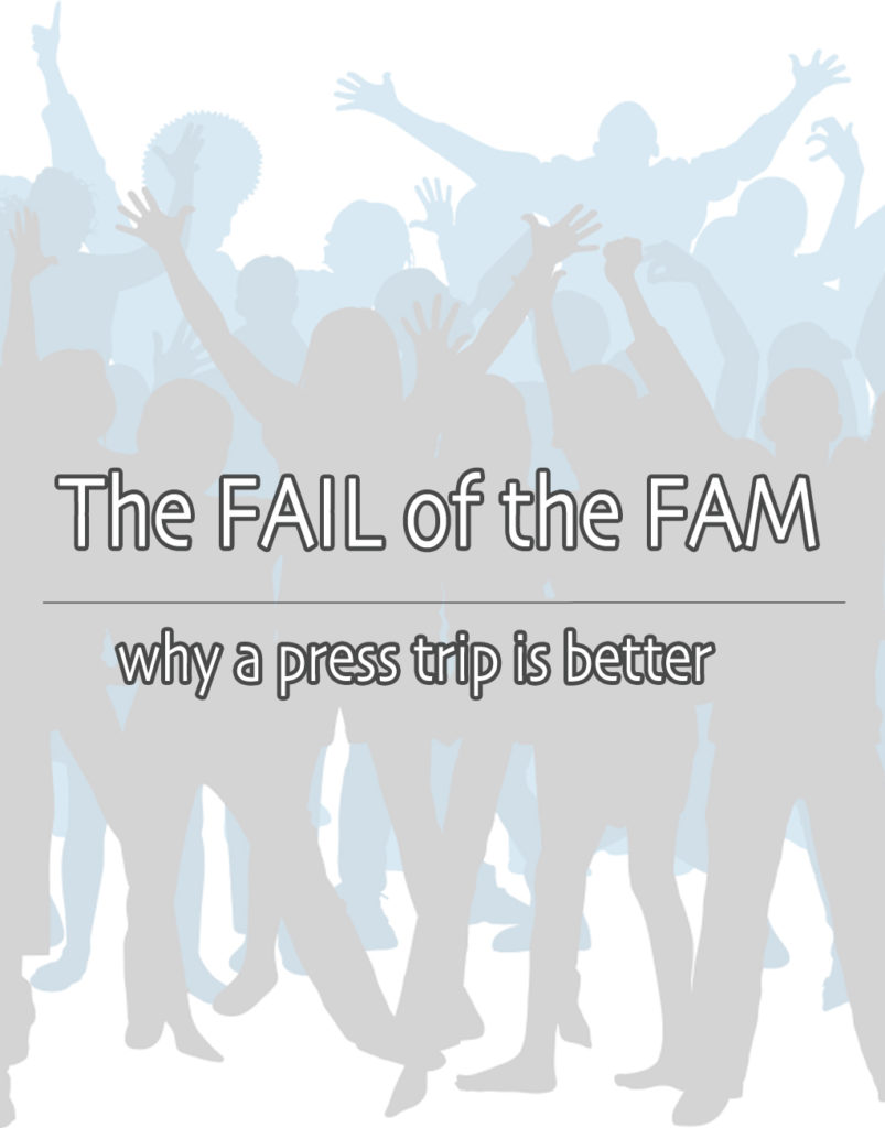Why a press trip is better than a FAM - by MikesRoadTrip.com