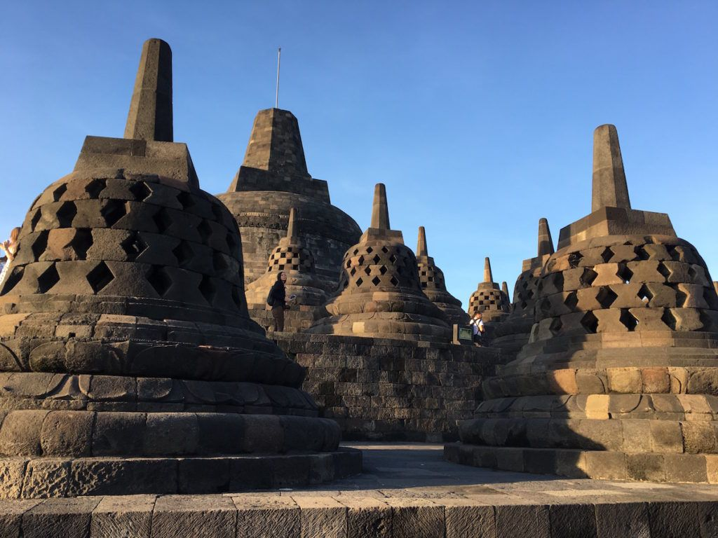 Bells at Borobudur by MikesRoadTrip.com