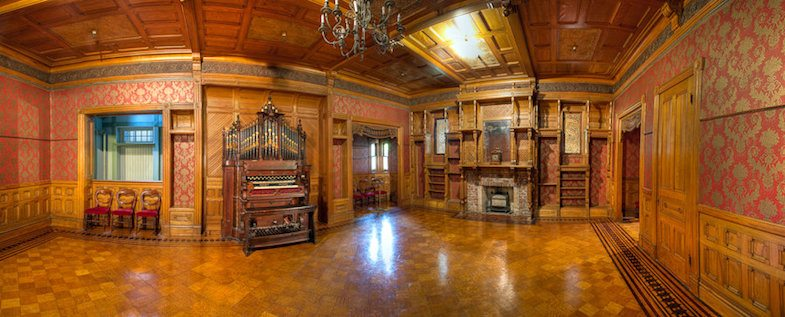 Inside the Winchester Mystery House: Photo by: ©David Swann