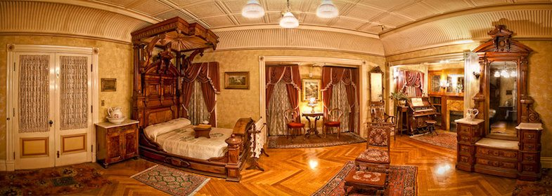 Bedroom of Winchester Mystery House - Photo by: ©David Swann