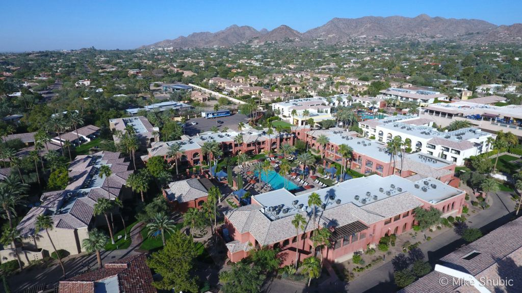 Montelucia Resort aerial photo by MikesRoadTrip.com