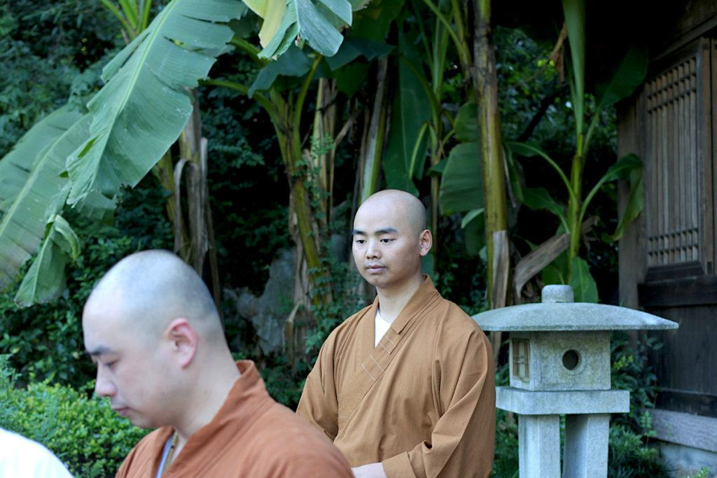 Buddhist Monks in Hangzhou teaching Zen - Photo by: MikesRoadTrip.com