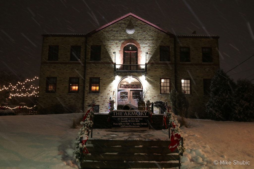 The Janesville Armory by MikesRoadTrip.com