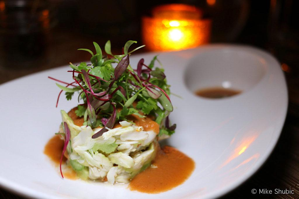 Lump crab at Prado restaurant in Scottsdale by MikesRoadTrip.com