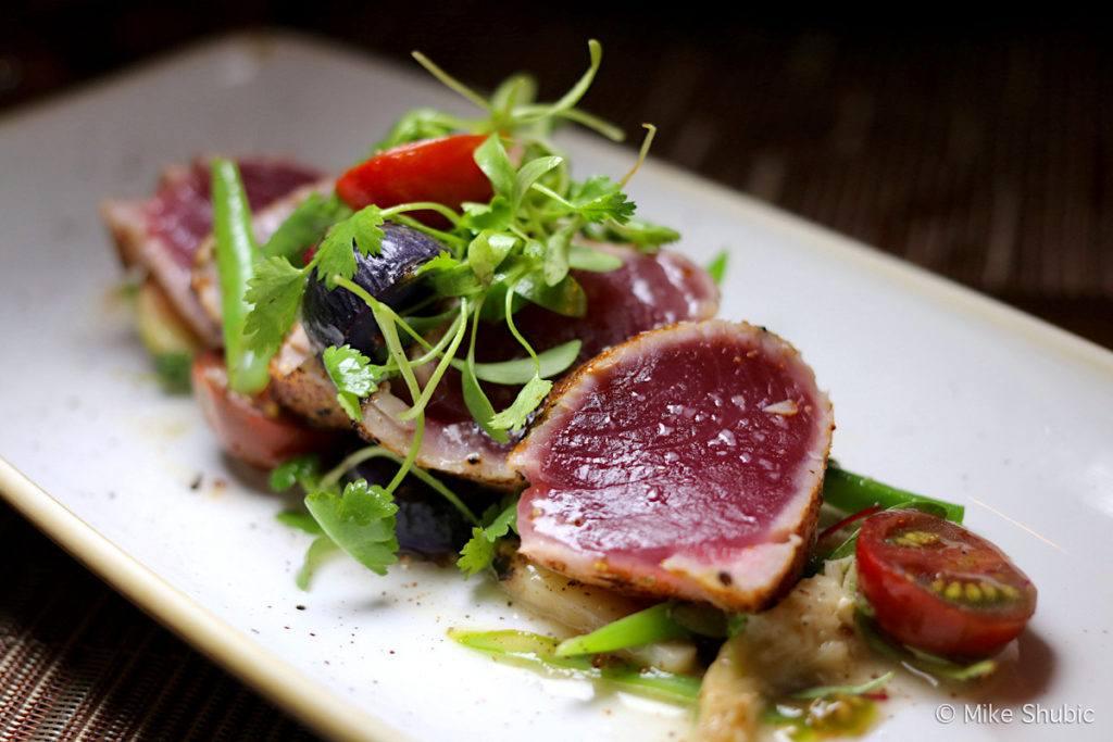 Ahi at Prado restaurant at Montelucia - Photo by: MikesRoadTrip.com