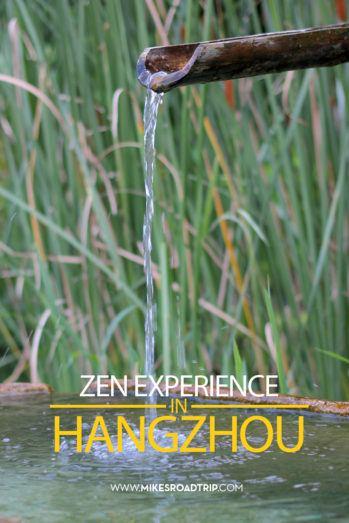 zen experience in Hangzhou by MikesRoadTrip.com