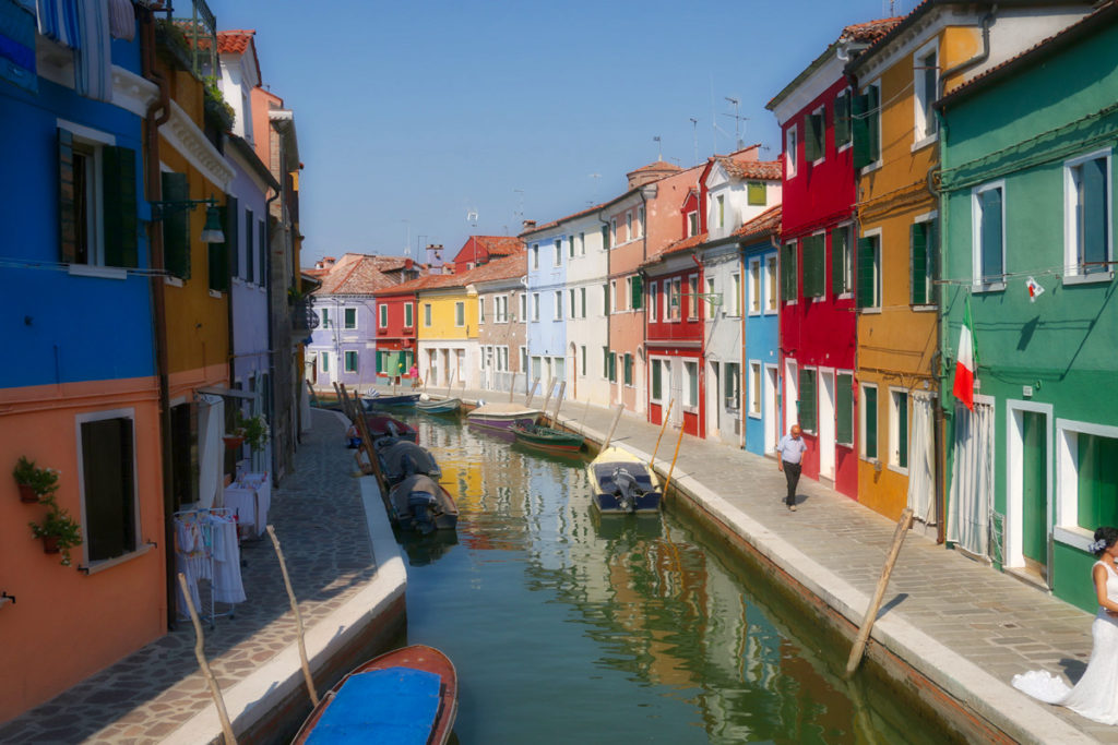 Burano Italy by Mike Shubic of MikesRoadTrip.com