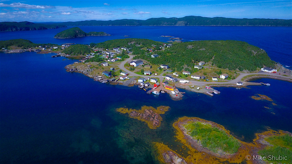 Central Newfoundland bay by MikesRoadTrip.com