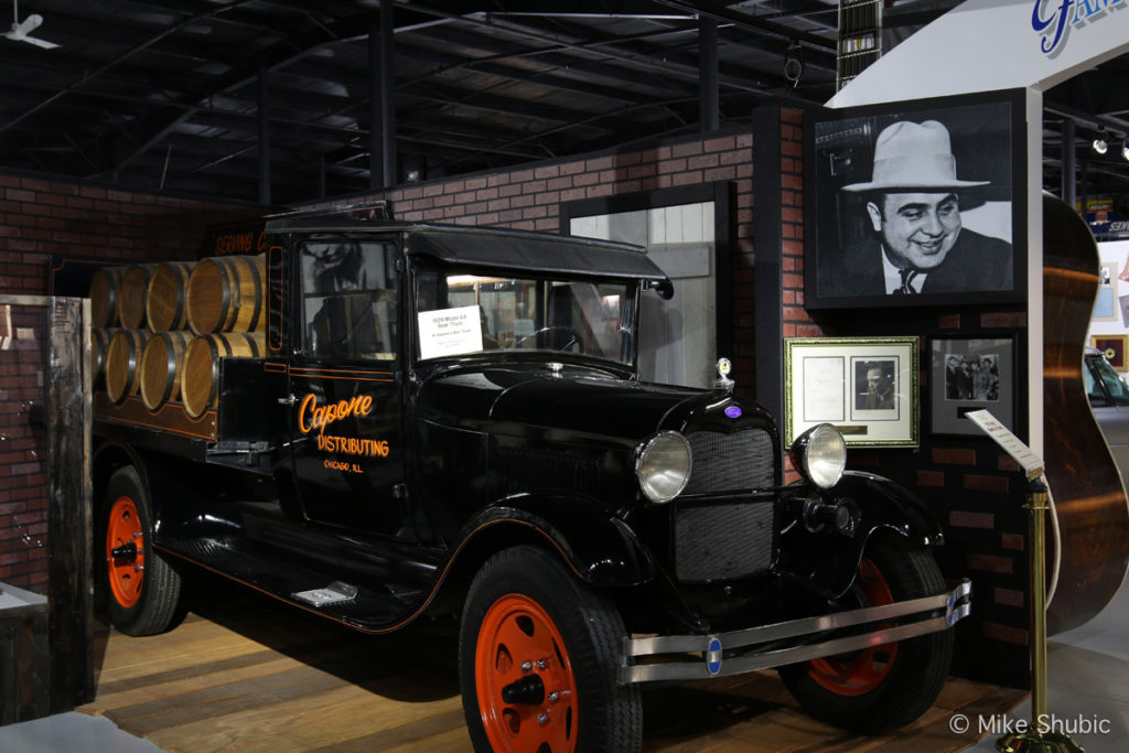 Al Capone truck at Historic Auto Attractions Museum by Mike Shubic of MikesRoadTrip.com