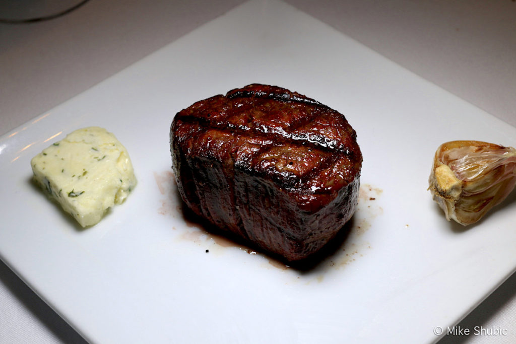Filet at Edge Steakhouse by MikesRoadTrip.com