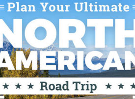 [Infographic] North American Road Trip ideas