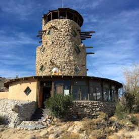 Desert View Tower, A roadside attraction in Jacumba, California