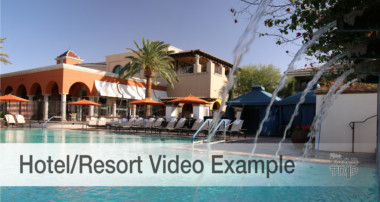 Hotel/lodging video examples