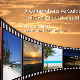 Travel Video Content Presentation